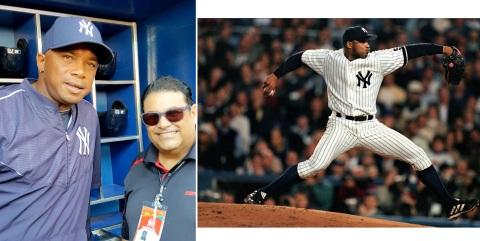 El cubano Duque Hernández, Ganador de 3 Series Mundiales con los Yankees, participando en 5.