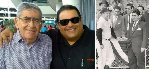 Gran amigo de contacto diario, miembre del Salón de la Fama de Cooperstown, NY. 93 años y es aún el narrador de Miami Marlins.