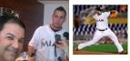 José Fernández, lanzando en su último juego Septiembre 20, 2016, murió 5 días después