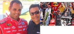 Colombiano Montoya, dos veces ganador de Indianapolis 500.