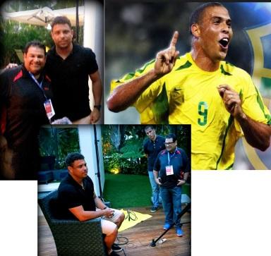 Entrevista con Ronaldinho 2do en goles en la historia de los Mundiales.